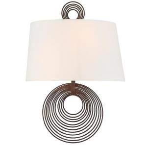 Doral - 2 Light Wall Mount in traditional and contemporary Style - 9.5 Inches Wide by 14 Inches High