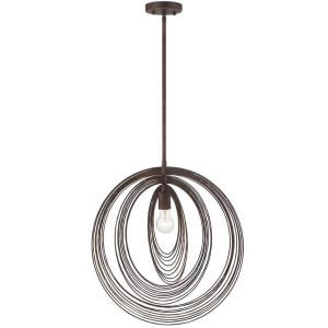 Doral - 1 Light Pendant in traditional and contemporary Style - 20 Inches Wide by 21 Inches High
