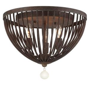 Duval - 3 Light Flush Mount in traditional and contemporary Style - 14 Inches Wide by 11.81 Inches High