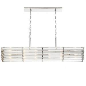Elliot - 6 Light Linear Chandelier