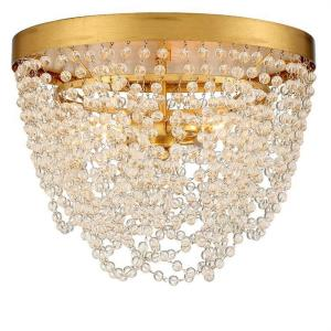 Fiona - 3 Light Flush Mount in timeless Style - 13.75 Inches Wide by 10 Inches High