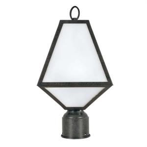 Glacier - One Light Outdoor Post Lantern