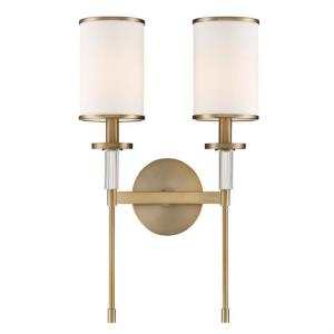 Hatfield - Two Light Wall Mount in classic, elegant, and casual Style - 12 Inches Wide by 18.5 Inches High
