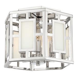 Hillcrest - Six Light Flush Mount in classic, elegant, and casual Style - 12 Inches Wide by 9 Inches High
