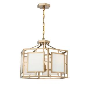 Hillcrest - Six Light Chandelier in classic, elegant, and casual Style - 22 Inches Wide by 18 Inches High