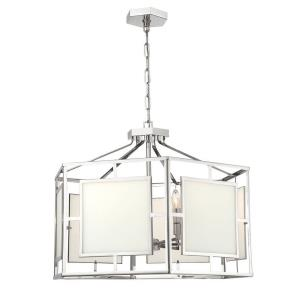 Hillcrest - 22 Inch Six Light Chandelier