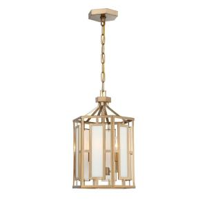 Hillcrest - Three Light Chandelier in natural, organic, and raw Style - 12 Inches Wide by 19 Inches High