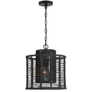 Jayna - 1 Light Pendant in traditional and contemporary Style - 12.5 Inches Wide by 13.5 Inches High