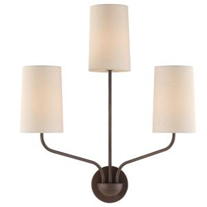 Leigh - Three Light Wall Sconce