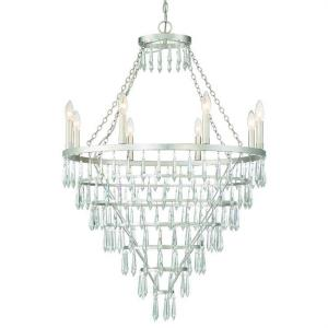 Lucille - 8 Light Chandelier