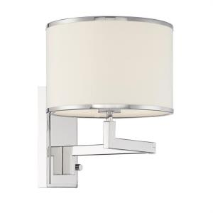 Madison - 1 Light Task Light in classic, elegant, and casual Style - 10 Inches Wide by 13 Inches High