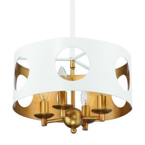 Odelle - Four Light Pendant