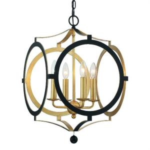 Odelle - Four Light Chandelier