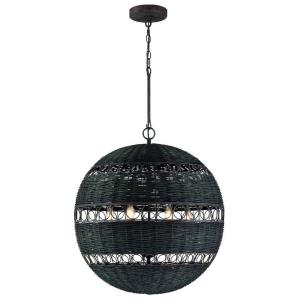 Remy - 6 Light Chandelier in Classic Style - 23 Inches Wide by 25.5 Inches High