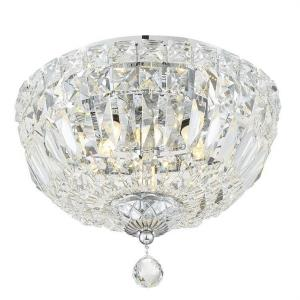 Roslyn - 3 Light Flush Mount in Classic Style - 10 Inches Wide by 8 Inches High