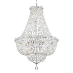 Roslyn - 9 Light Chandelier in traditional and contemporary Style - 22 Inches Wide by 33 Inches High
