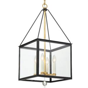"Weston - 29.75"" Four Light Hanging Lantern"