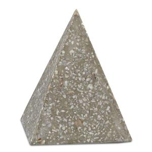 "Abalone - 5"" Small Concrete Pyramid"