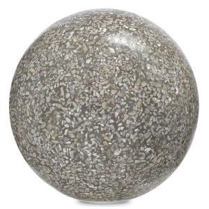 "Abalone - 6"" Small Concrete Ball"
