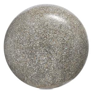 "Abalone - 10"" Large Concrete Ball"