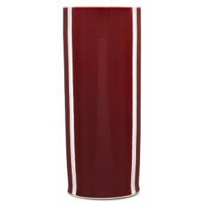 """Oxblood - 20.5"""" Cylinder Vase"""