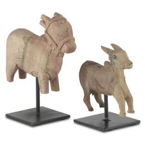 Nandi - 8.75 Inch Cow (Set of 2)