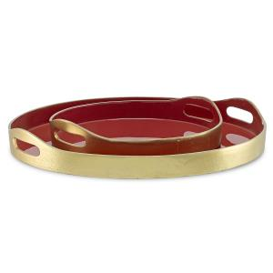 Riya Red Tray Set