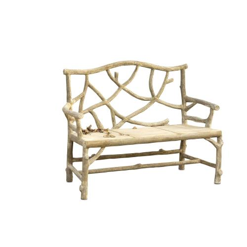 "Currey and Company 2705 Woodland - 49"" Bench"