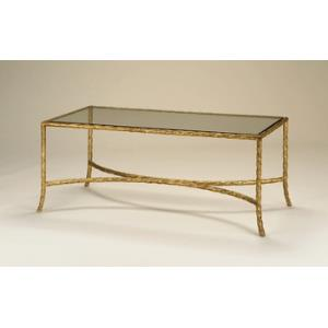 Gilt Twist - 44 Inch Cocktail Table