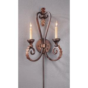 2 Light Orleans Wall Sconce - Small