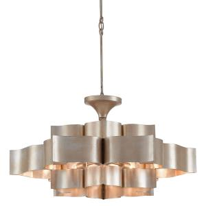 Grand Lotus - 6 Light Large Chandelier