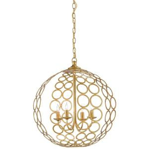 Tartufo - 4 Light Orb Chandelier