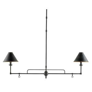 Prosperity - Two Light Rectangular Chandelier