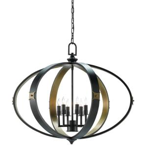 Huntsman - Six Light Chandelier