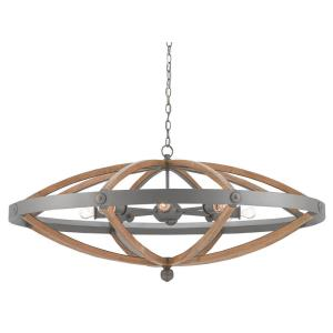 Highbank - Eght Light Circle Chandelier