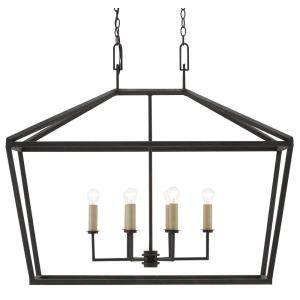 Denison - 6 Light Rectangular Lantern