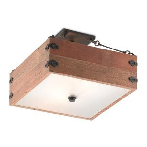 Billycart - 2 Light Semi-Flush Mount