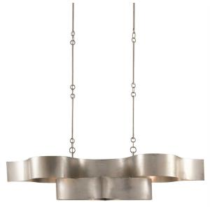Grand Lotus - Six Light Oval Chandelier