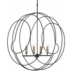 Auden - 4 Light Orb Chandelier