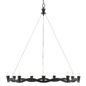 Serpentina - Nine Light Chandelier