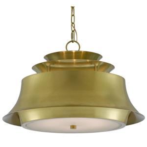 Altson Brass - Six Light Pendant