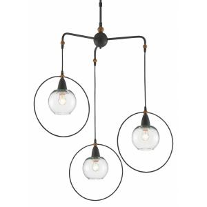 Moorsgate - Three Light Trio Pendant