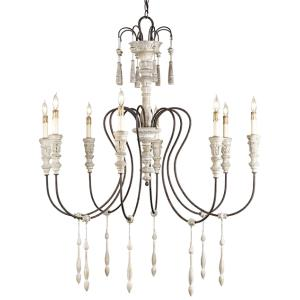 Hannah - Eight Light Chandelier