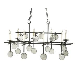 Sethos - Eight Light Rectangular Chandelier