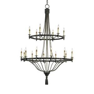 Priorwood - Eighteen Light Chandelier