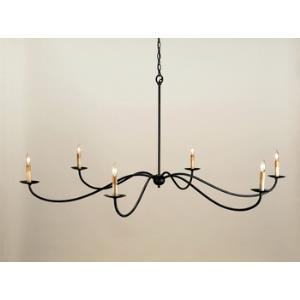 6 Light Saxon Chandelier