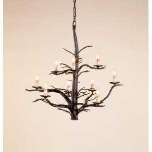 9 Light Treetop Large Chandelier