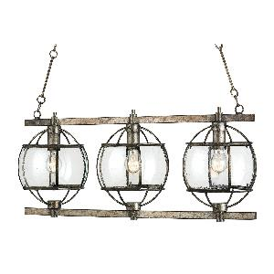 The Lillian August - Three Light Broxton Rectangular Chandelier