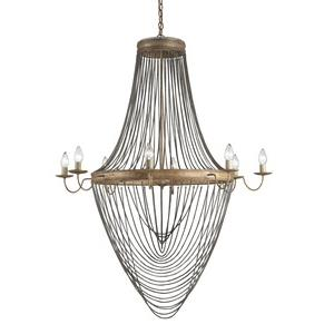 Lucien - Eight Light Large Chandelier