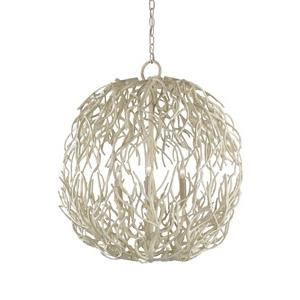 Eventide - Three Light Sphere Chandelier